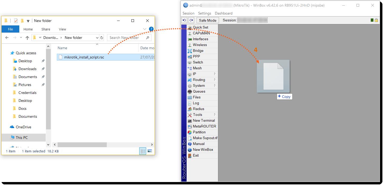 Mikrotik Integration Guide – Encapto Helpdesk